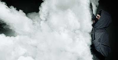 Antifurto fumogeno con allarme