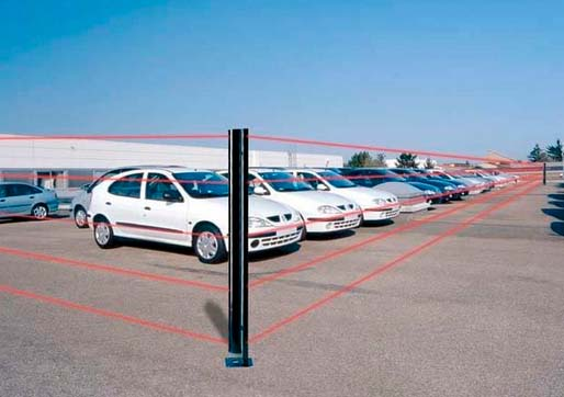 Sistema antintrusione per concessionarie d'auto