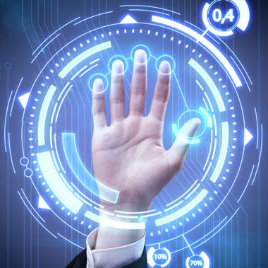 Controllo accesso biometrico