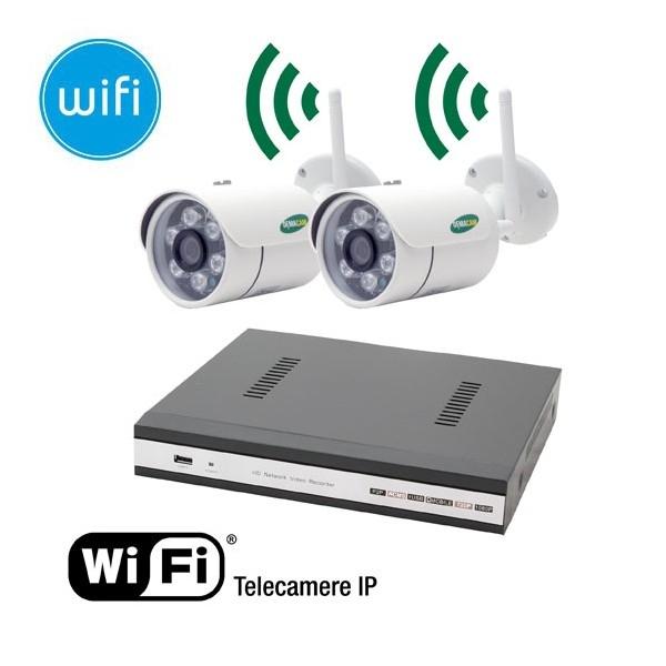 Videosorveglianza wifi esterno